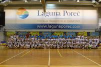 Perspektivni zagrebački odbojkaši i odbojkašice na Volleyteam kampu u Poreču