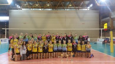 Juniorke HAOK Mladost i OK Dinamo osigurale plasman na završnicu prvenstava Regije centar za juniorke