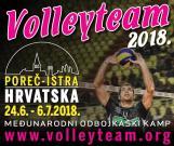 Počele prijave za 7. međunarodni Volleyteam Camp 2018