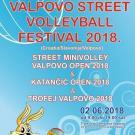 Međunarodni Festival odbojke VALPOVO STREET VOLLEYBALL FESTIVAL 2018