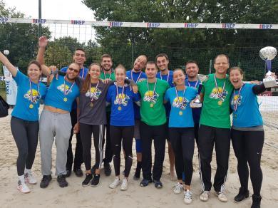 KOP Siget dvostruki prvak Hrvatske u odbojci na pijesku