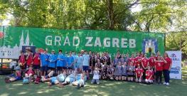 Održano prvenstvo sportskih škola ZOS-a za djevojčice i dječake