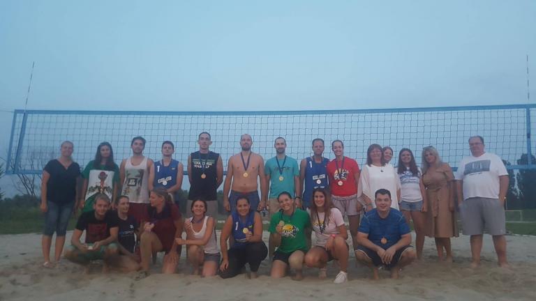 Ljeto na Savi - Final Four turnira gradskih četvrti u odbojci na pijesku