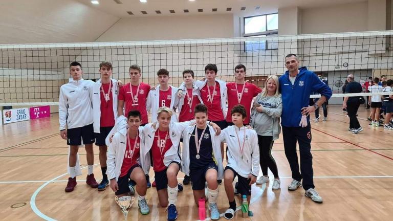 Srebro na državnom prvenstvu za mlađe kadete i kadetkinje HAOK Mladost