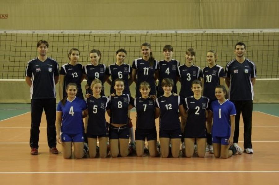 Ženska mlađe kadetska selekcija Zagreba 1