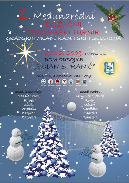 Plakat Božićnog turnira
