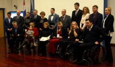 "Marija Anzulović primila godišnju državnu nagradu na području sporta ""Franjo Bučar"""